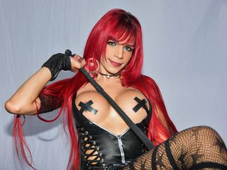 I Live In Colombia! My Name Is AngelicaaRED, I'm 24 Years Old And I'm A Sex Webcam Desirable Tranny And I Have Fire Red Hair