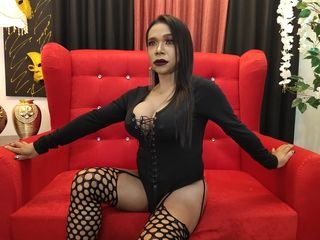image of tranny cam model RoseMaryCum
